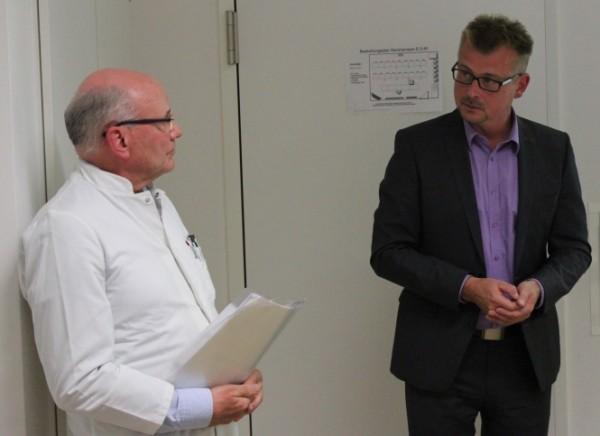 Die beiden Referenten auf dem Patientenforum Greifswald: Experten für Keratoplastik und Gewebespende in MV.