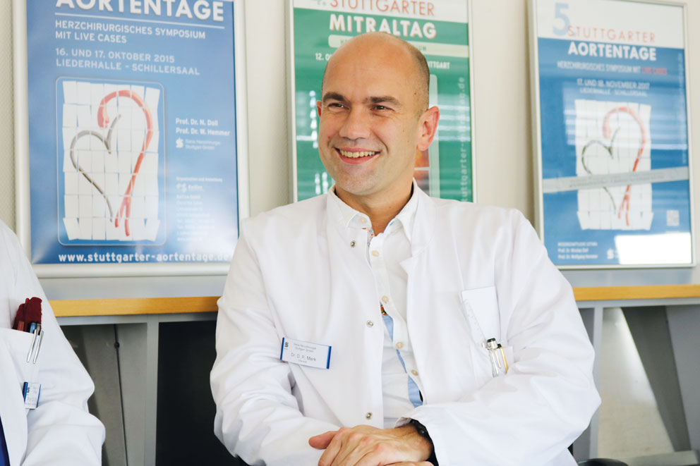 Dr. Merk hat bereits zweimal eine Herzgewebespende entnommen